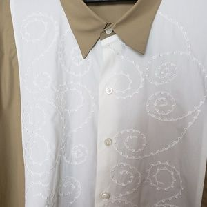 Cubavera Shirts - Cubavera embroidered shirt